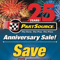PartSource - Anniversary Sale! Flyer