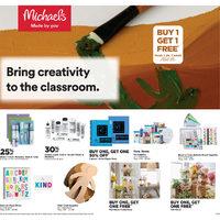 Michaels - Weekly Deals Flyer
