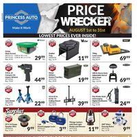 Princess Auto - Price Wrecker Flyer