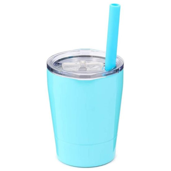 6. Best Insulated: Colorful PoPo Kids Stainless Steel Sippy Cup