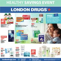 London Drugs - Healthy Savings Event Flyer