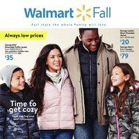 Walmart - Fall Book Flyer