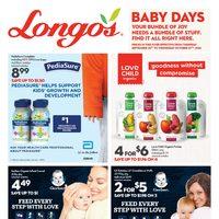 Longos - Baby Days Flyer