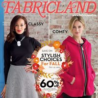 Fabricland - Monthly - Style Choices for Fall Flyer