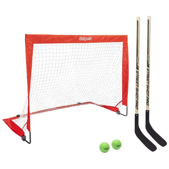 5. Best for Set for Kids: GoSports Street Hockey Goal Set