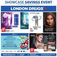 London Drugs - Showcase Savings Event Flyer