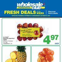 Wholesale Club - Fresh Deals of The Week Flyer