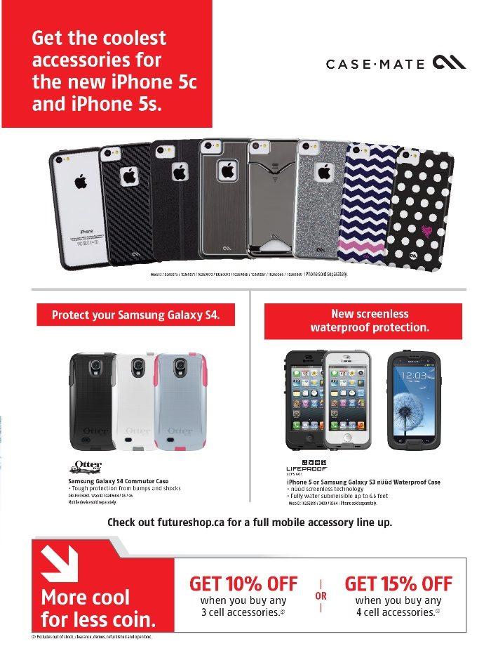 Future Shop Weekly Flyer - Cellshop October 2013 - Oct 4 – Nov 7