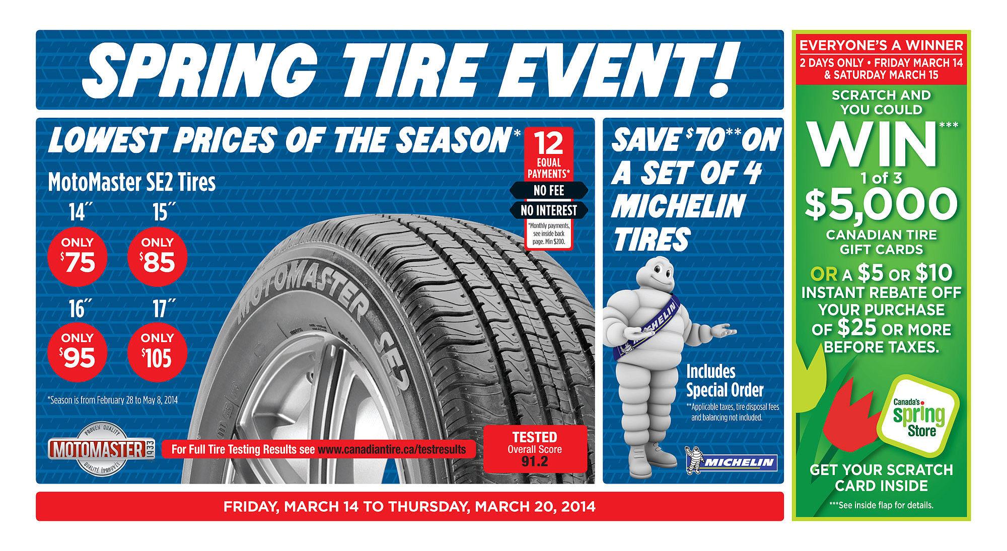 Canadian Tire Weekly Flyer - Weekly Flyer - Mar 13 – 20 ...