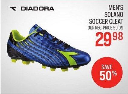 767e6a3e2de Sport Chek Diadora Men s Solano Soccer Cleats -  29.98 (50% off) Diadora  Men s Solano Soccer Cleats -  29.98