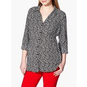 Stork & Babe - Long Sleeve Printed Maternity Blouse - $20.99 ($38.01 Off)