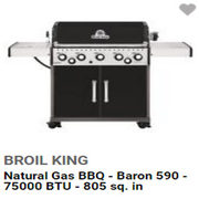 Up to $150.00 Off Select BBQs