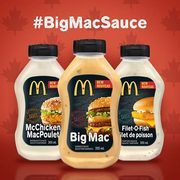 Amazon.ca: McDonald's Big Mac, Filet-O-Fish and McChicken Sauces Now Available for $3.99 Each
