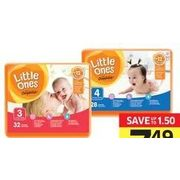 Little Ones by Compliments Jumbo Diapers - $7.49 (Up to $1.50 off)