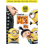 Despicable Me 3 DVD - $19.99