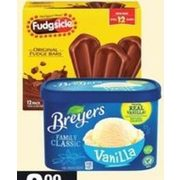 Breyers Classic Frozen Dessert or Popsicle Novelties - $3.99