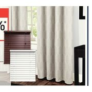 All Curtains, Blinds And Rods - 25% off