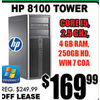 HP 8100 Tower - $169.99