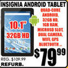 Insignia Android Tablet - $79.99
