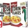 Kellogg's Family Size Cereals Corn Flakes Or All Bran Flakes  - $4.99