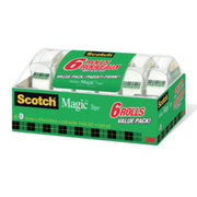 3M Scotch Tape - $8.99 ($4.50 off)
