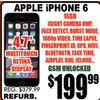 Apple Iphone 6 - $199.99
