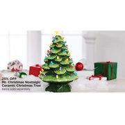 Michaels Mr Christmas Nostalgic Ceramic Chrismas Tree