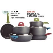 Bialetti Cookware Set - $149.99 (60% off)