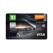TD® Aeroplan® Visa Infinite Card: Earn Aeroplan Miles with Every Purchase