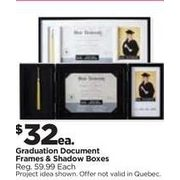 Graduation Document Frames & Shadow Boxes - $32.00