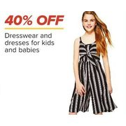 Dresswear And Dresses For Kids And Babies - 40% off
