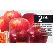 Ambrosia, Pink Lady Apples or Pazazz Apples - $2.99/lb