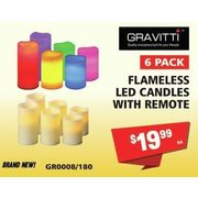 Alameless Candles With Remote - $19.99