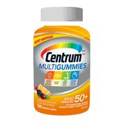 Centrum Multigummies 50+ Or Centrum Multi+Beauty Multigummies - $17.47