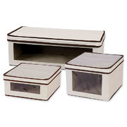 Household Essentials® Vision Storage Box In Natural - $23.99 - $31.99