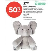 Baby Gund Flappy The Elephant - $27.47 (50% off)