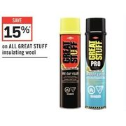 All Great Stuff Insulating Wool - 15% off