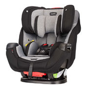 Evenflo Symphony Car Seats - Stage 1, 2 & 3: Infant/Child/Booseter Car Seat - Symphony Deluxe - Ashland Grey - $199.87 (Up to $100