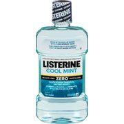 Listerine Classic Or Kids Rinse, Colgate Sensitive Toothpaste, Power Toothbrush, Crest Gum Detoxify Toothpaste Or Pro-Health Mouth