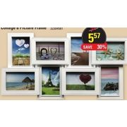 Collage 8 Picture Frame - $5.57 (50% off)