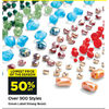 Green Label Strung Beads  - 50% off