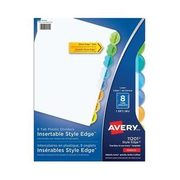 Avery Style Edge Dividers - 8-tab - $3.99 (20% off)
