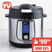 As Seen On TV 8-In-1 Programmable Press Cooker  - $99.99 (33% off)