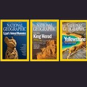 National Geographic Magazine - $16 for 12 Monthly Issues + Free iPad Version